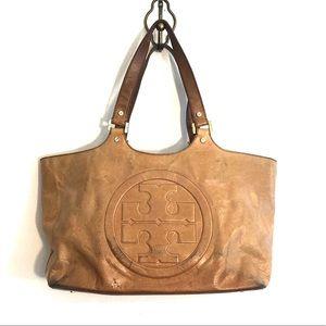 [Tory Burch] Light Brown Leather Handbag